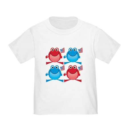 Four Freedom Frogs: Toddler T-Shirt
