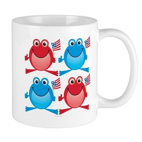 Four Freedom Frogs: Mug