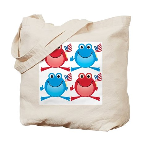 Four Freedom Frogs: Tote Bag