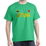Lietuva olympic green.png T-Shirt