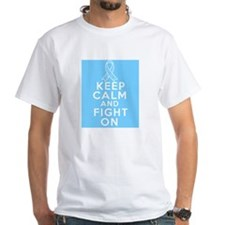 Prostate Cancer Keep Calm Fight On Shirt