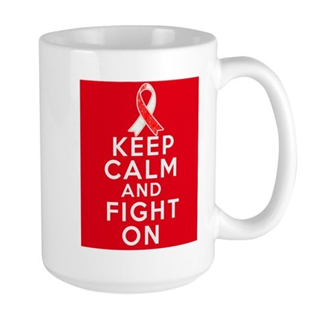 Squamous Cell Carcinoma Keep Calm Large Mug