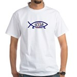 Gould Fish! Not Darwin Fish. White T-Shirt