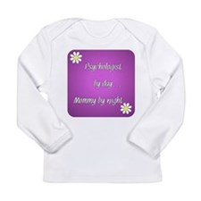 Psychologist by day Mommy by night Long Sleeve Inf