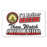 &amp;quot;I'd Rather Secede&amp;quot; Decal