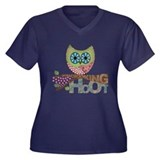 Scrapbooking is a Hoot Plus Size T-Shirt