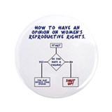 "Pro Choice Chart 3.5"" Button (100 pack)"