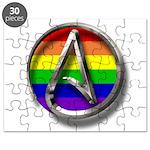 LGBT Atheist Symbol Puzzle