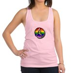LGBT Atheist Symbol Racerback Tank Top