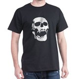 screaming vampire skull dead bones T-Shirt
