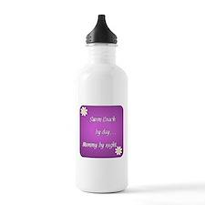 Swim Coach by day Mommy by night Water Bottle