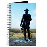 Journal - statue at little round top