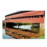 Postcards (Package of 8) - Autumn at Sachs Bridge