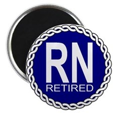 "Royal Navy Retired 2.25"" Magnet (10 pack)"