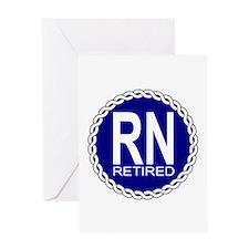 Royal Navy Retired Greeting Card