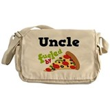 Uncle Fueled By Pizza Messenger Bag