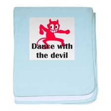 Dance with the devil baby blanket