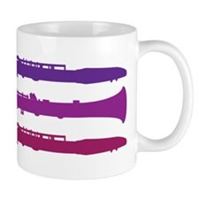 Clarinet Music Colorful Mug