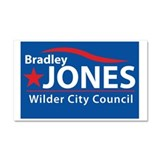 Unique Bradley Car Magnet 20 x 12