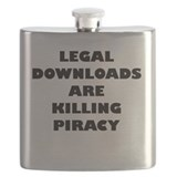 Legal Downloads Are Killing Piracy Flask