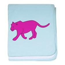 Panther baby blanket