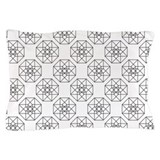 Geometrical Tesseract Pillow Case