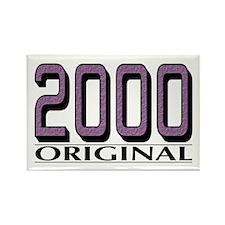2000 Original Rectangle Magnet
