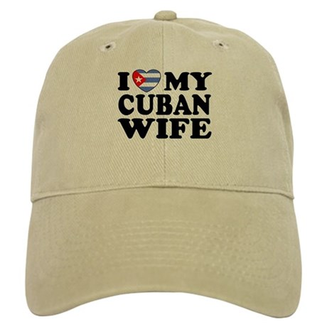 I Love My Cuban Wife Cap