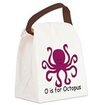 Octopus10.png Canvas Lunch Bag