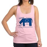 Rhino Facts Racerback Tank Top