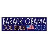 BARACK OBAMA JOE BIDEN 2012 FLAG Stickers