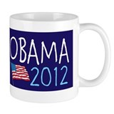 BARACK OBAMA JOE BIDEN 2012 FLAG Mug
