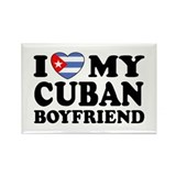 I Love My Cuban Boyfriend Rectangle Magnet