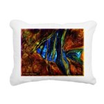 Angel Fish Rectangular Canvas Pillow