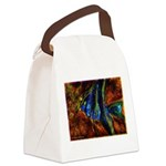 Angel Fish Canvas Lunch Bag