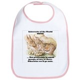 Introvert Squirrels Bib