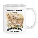 Introvert Squirrels Small Mugs