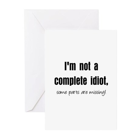 Complete Idiot Greeting Cards (Pk of 10)