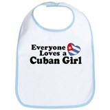 Everyone Loves a Cuban Girl Bib