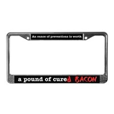 Pound of Bacon License Plate Frame