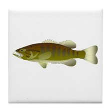 Smallmouth Bass Tile Coaster