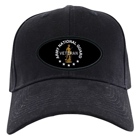 Army National Guard Veteran Black Cap