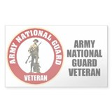 Army National Guard Veteran Decal