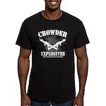 Crowder Explosives Men's Fitted T-Shirt (dark)