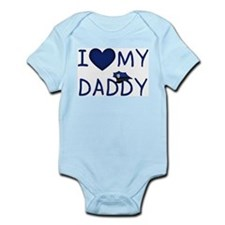 I Love My Police Daddy Infant Creeper Body Suit