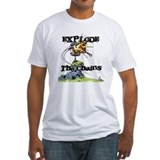 Disc Golf EXPLODE THE CHAINS Shirt