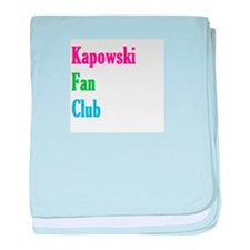 Kapowski Fan Club baby blanket