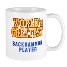 World's Greatest Backgammon Player Mug