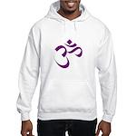 The Purple Aum/Om Hooded Sweatshirt