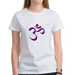 The Purple Aum/Om Women's T-Shirt